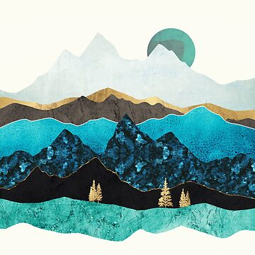 Teal Afternoon by spacefrogdesign