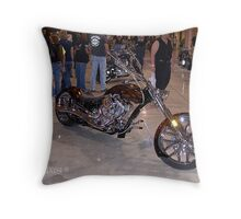 root beer flames? Throw Pillow
