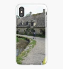 very old national trust houses in bibury iPhone Case/Skin