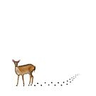Doe in the Snow by Kate Rolfe