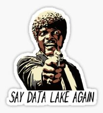 SAY DATA LAKE AGAIN Sticker