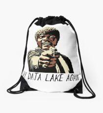 SAY DATA LAKE AGAIN Drawstring Bag