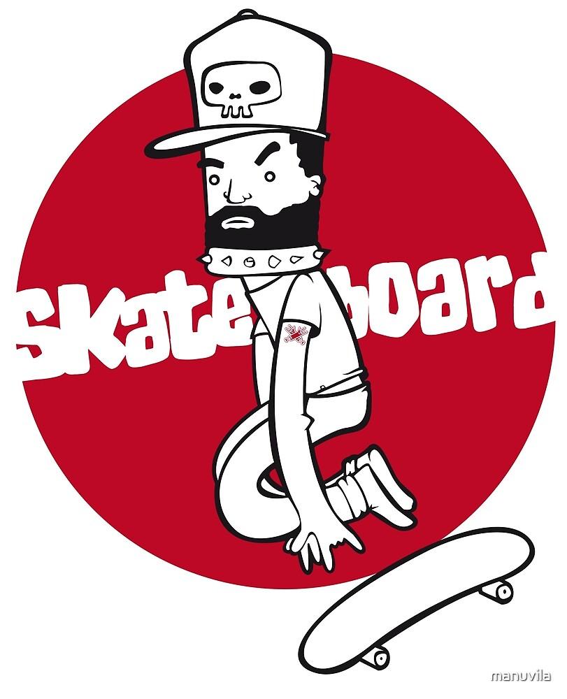 «Skateboard» de manuvila