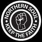 Northern Soul - Keep the Faith logo by Ian Fox