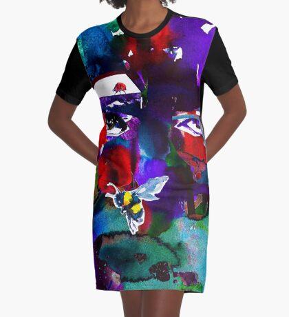 BAANTAL / Pollinate / Evolution #6 Graphic T-Shirt Dress
