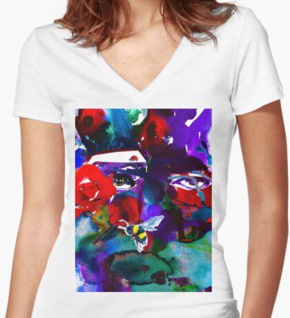 BAANTAL / Pollinate / Evolution #6 Fitted V-Neck T-Shirt