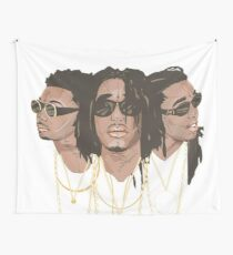 best trio rapper Wall Tapestry