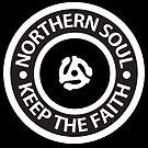 Northern Soul - Keep the Faith logo Style 2 by Ian Fox