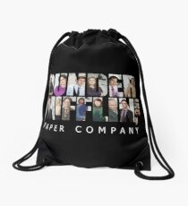 The Office // Dunder Mifflin Inc - Character Portrait design Drawstring Bag