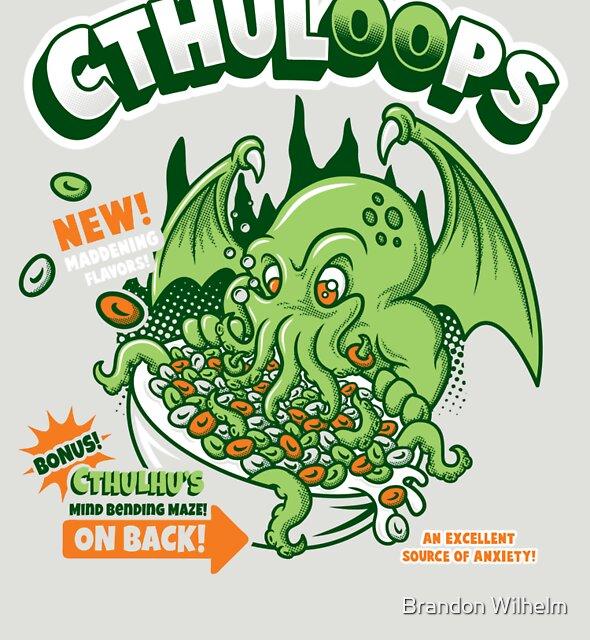 «Cthuloops! Todos los nuevos sabores!» de Brandon Wilhelm