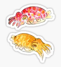 Pegatina Cuttle Buddies