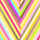 Lollipop Wood Stripes by Marta Li
