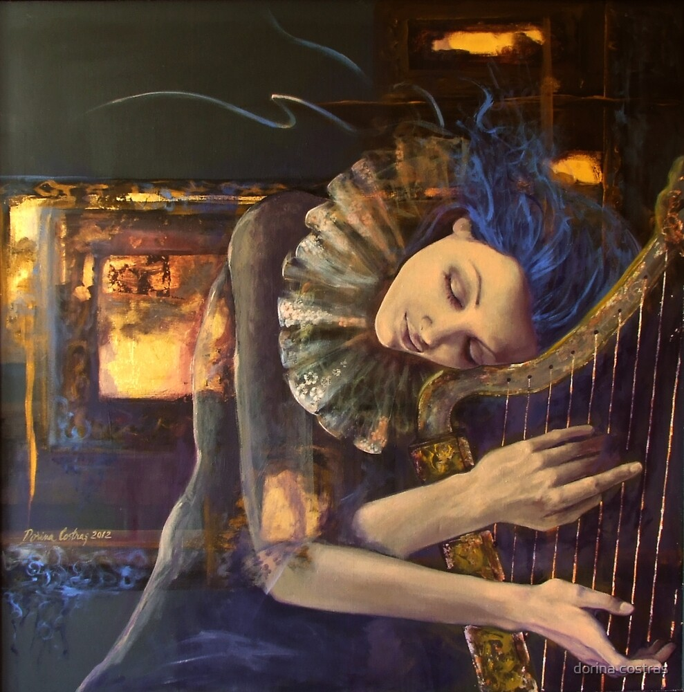 """Nocturne"" from ""Feuilleton"" series by dorina costras"