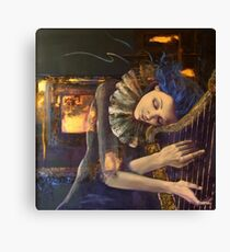 """Nocturne"" from ""Feuilleton"" series Canvas Print"