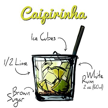 Caipirinha Recipe by HuckleberryArts
