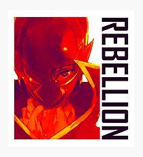 Rebllion - Code Geass Photographic Print
