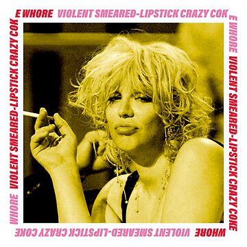 1 Year Sober Courtney Love by noauxia