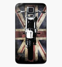 Classic British BSA Motor Cycle Tee Case/Skin for Samsung Galaxy
