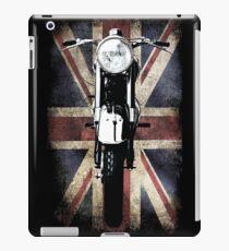 Classic British BSA Motor Cycle Tee iPad Case/Skin