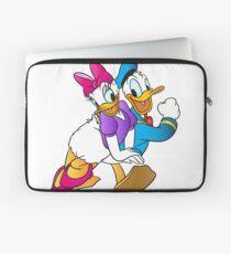 Donald Daisy Duck Be My Valentine Laptop Sleeve