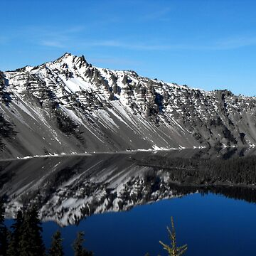 Crater Lake Reflection by evensteven