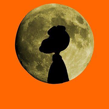 Great Pumpkin Silhouette by zombill