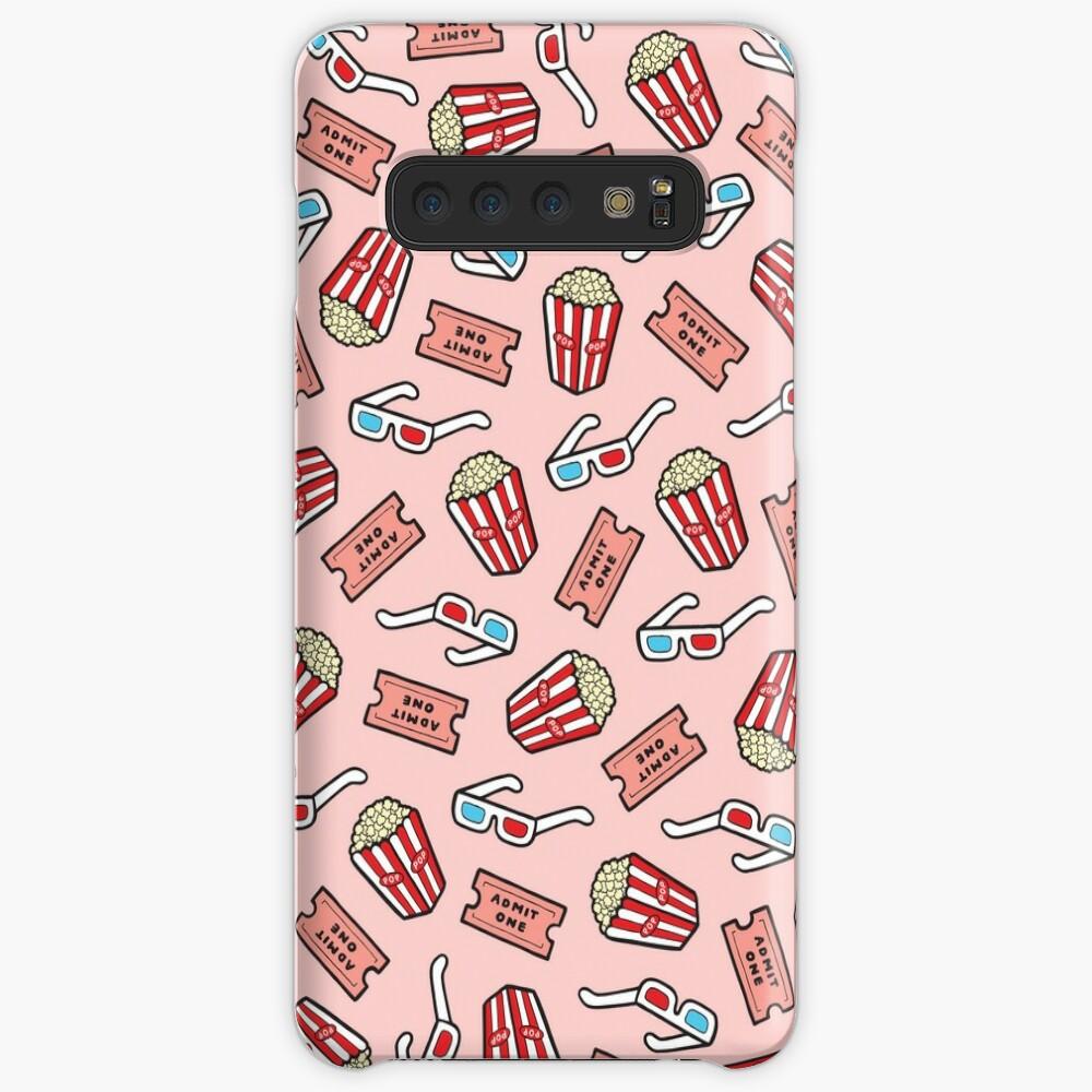 Movie Pattern in Pastel Pink Samsung Galaxy Snap Case