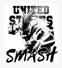 United States of Smash - My Hero Academia Photographic Print