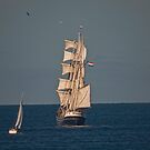 Sails in the Sunset. by NeilAlderney