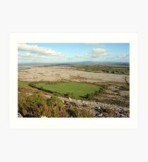 Mullaghmore mountain view Art Print