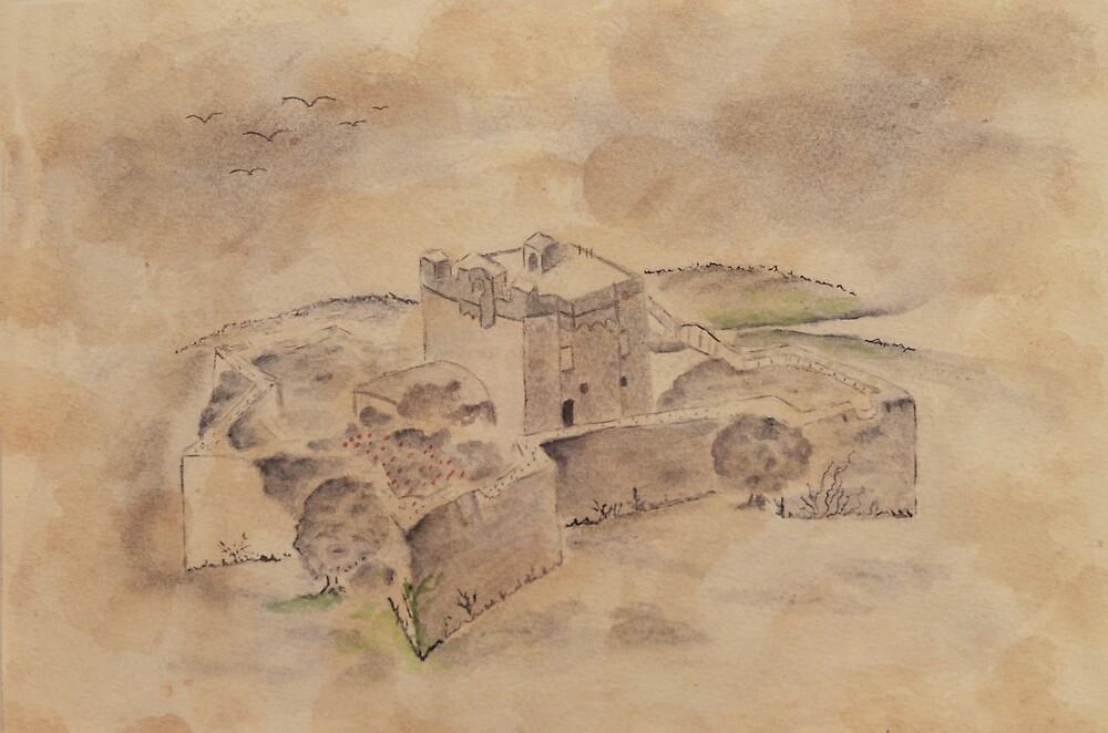 Puin fortress of Genoa by ElaZanfi