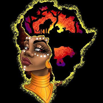 African Queen - Sunset Version by Krampussy