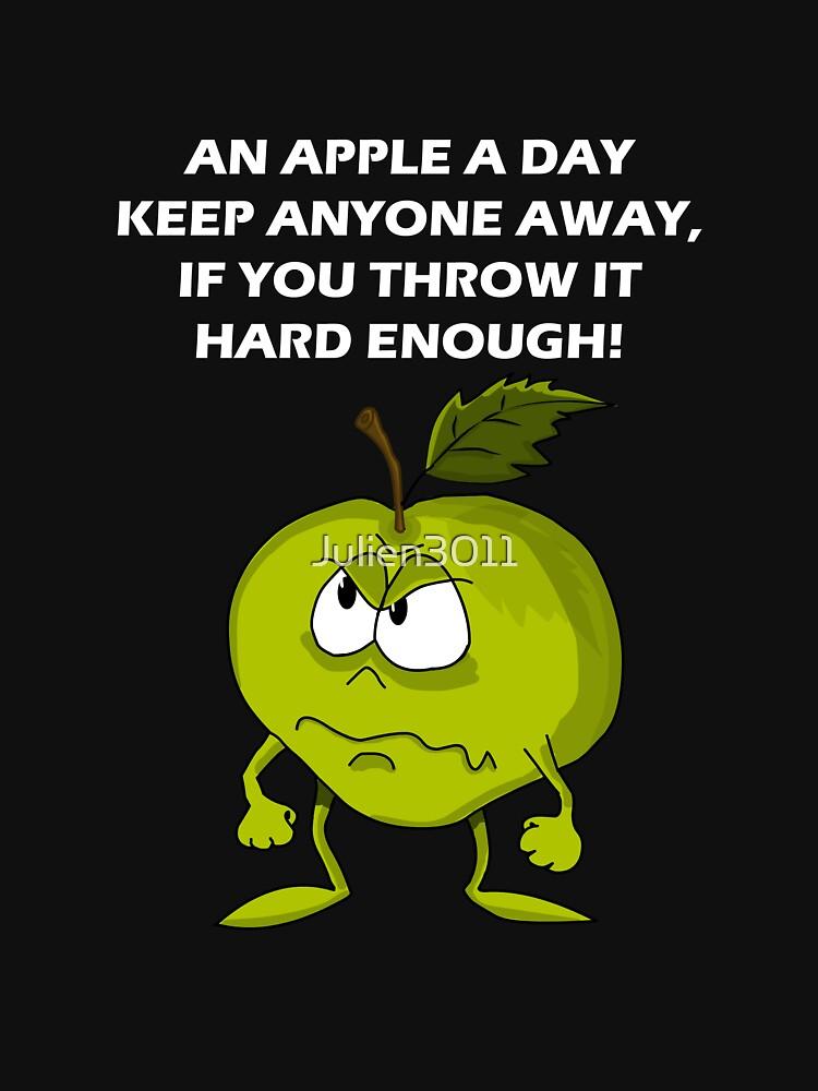 An apple a day by Julien3011