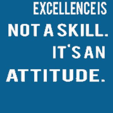 Excellence is not a skill by sogimester95