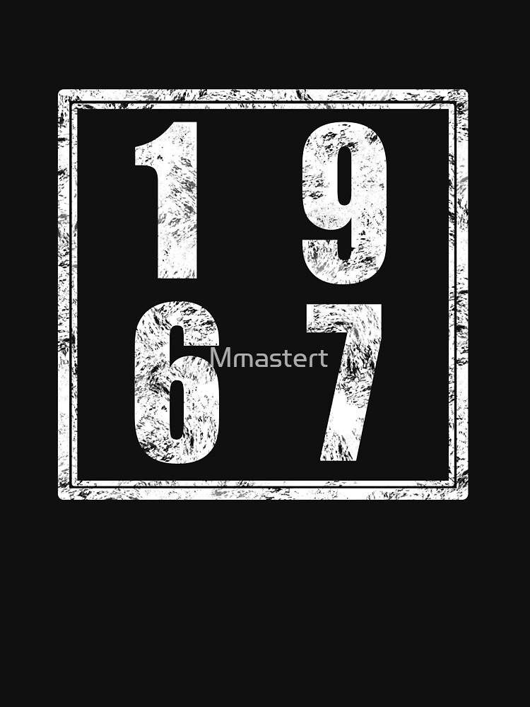 Vintage Retro 1967 Birthday by Mmastert