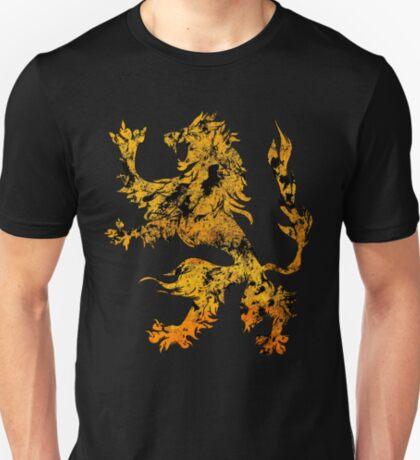Lion Heraldry Griffin - Heraldic Grungy T-Shirt