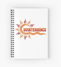Quintessence | Hampton University Class Name | HU Class Name  Spiral Notebook
