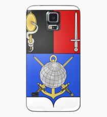French France Coat of Arms 16865 Blason Hyacinthe Yves Philippe Potentien de Bougainville Case/Skin for Samsung Galaxy