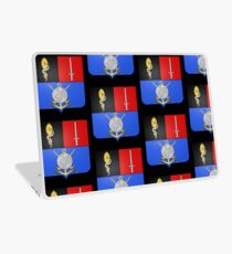French France Coat of Arms 16865 Blason Hyacinthe Yves Philippe Potentien de Bougainville Laptop Skin