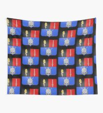 French France Coat of Arms 16865 Blason Hyacinthe Yves Philippe Potentien de Bougainville Wall Tapestry