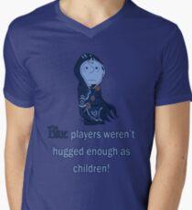 Charlie Brown's a blue player Men's V-Neck T-Shirt