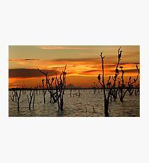 Kariba Sunset Photographic Print