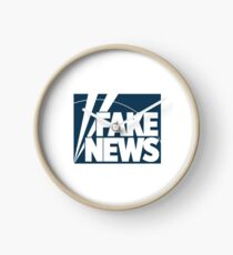 Fake News Channel Clock