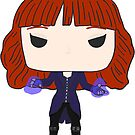 Scarlet Witch Ruth Connell by Little  Pop Workshop