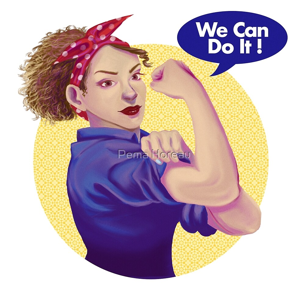 We can do it! by its-pema-time