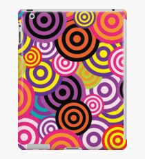 60s inspired print | Colorful Print Pattern | Colorful Abstract  iPad Case/Skin