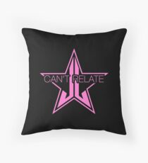 Jeffree Star Can't Relate Throw Pillow