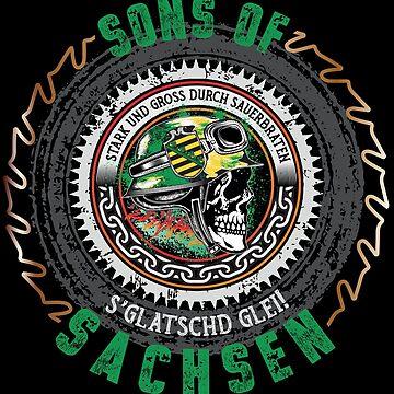 Sons of Saxony by phskulmshirt
