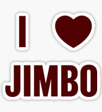 I <3 Jimbo Sticker