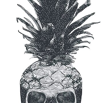 Skull pineapple by WAMTEES